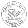 The official Safe Contractor Accreditation Logo.